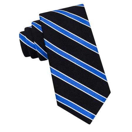 Boy's Eldridge Core Striped Tie (Tommy Hilfiger Bow Tie And Pocket Square Set)