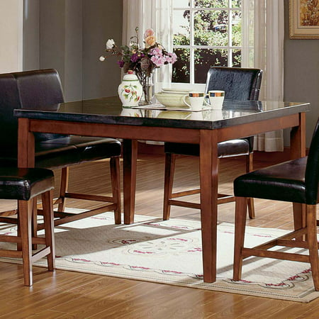 steve silver montibello counter height square dining table. Black Bedroom Furniture Sets. Home Design Ideas