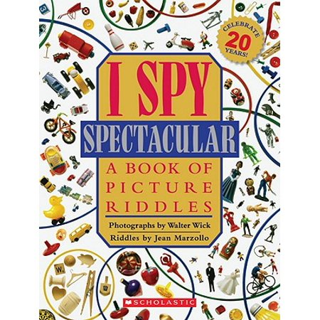 I Spy Spectacular : A Book of Picture Riddles](Halloween Riddles Mysterious Griddlers)
