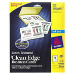Avery 8873 Clean Edge Inkjet Business Card