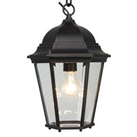 1 Light Outdoor Hanging Lantern in Oil Rubbed Bronze