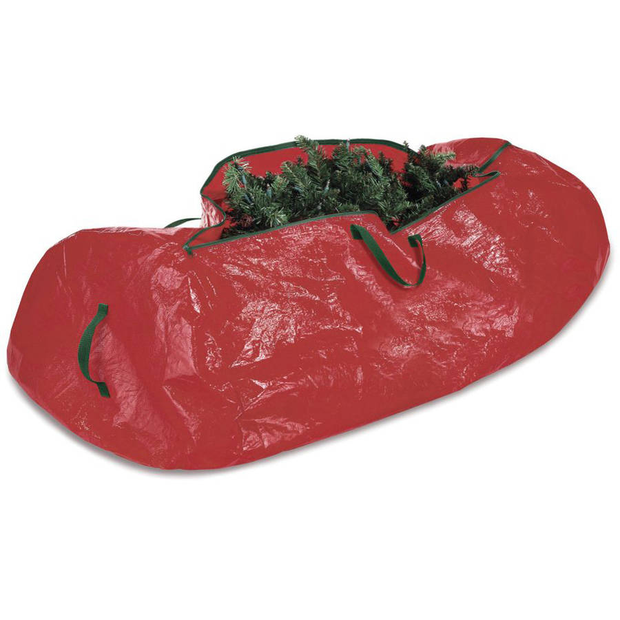 simplify christmas tree storage bag holds 95 artificial tree red walmartcom - Christmas Tree Covers For Storage