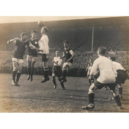 Bolton Wanderers vs. West Ham United, FA Cup Final, 28th April 1923 Print Wall Art By English (West Ham Players In 1966 World Cup)
