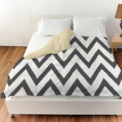 Manual Woodworkers & Weavers Zig Zag Duvet Cover