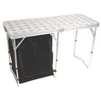 Coleman Store-More Cupboard Table, Aluminum