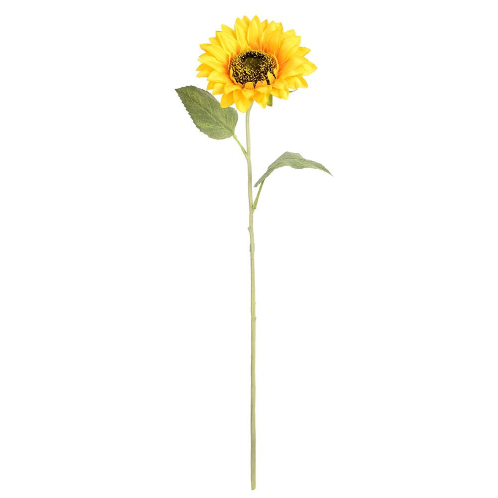 """Vickerman 23"""" Yellow Sunflower Stem 6/Pk"""