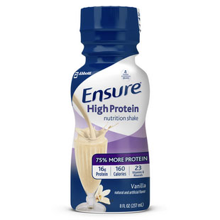 Ensure Active High Protein for Muscle Health Vanilla, 8 oz. Bottle, Retail - 6 Pack(age)