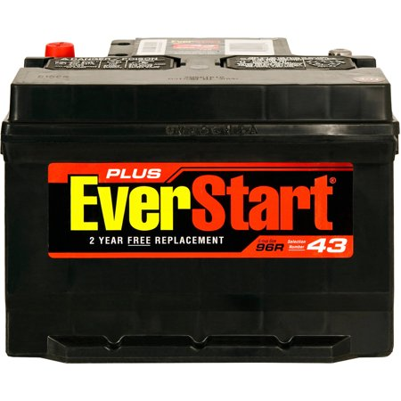 EverStart Plus Lead Acid Automotive Battery, Group