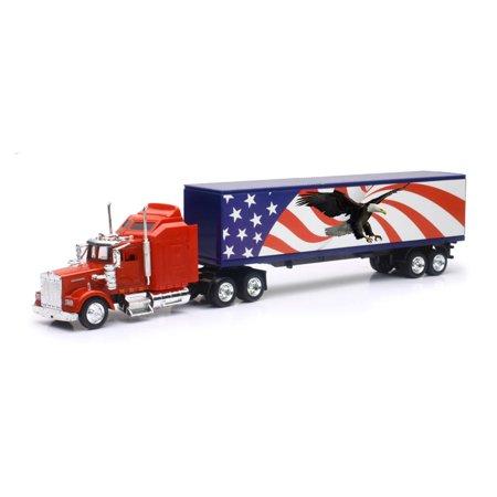 1/43 Kenworth W900 Patriotic Graphic Truck