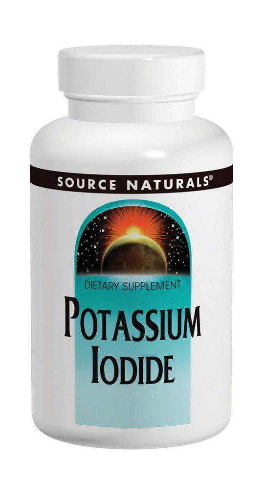 Potassium Iodide Source Naturals 60 Tabs by Source Naturals