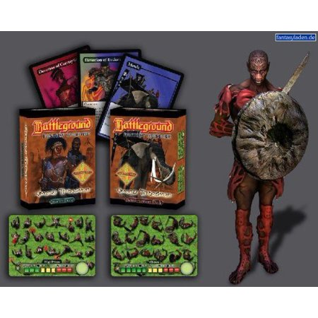 Battleground Fantasy Warfare  Umenzi Tribesmen Multi Colored