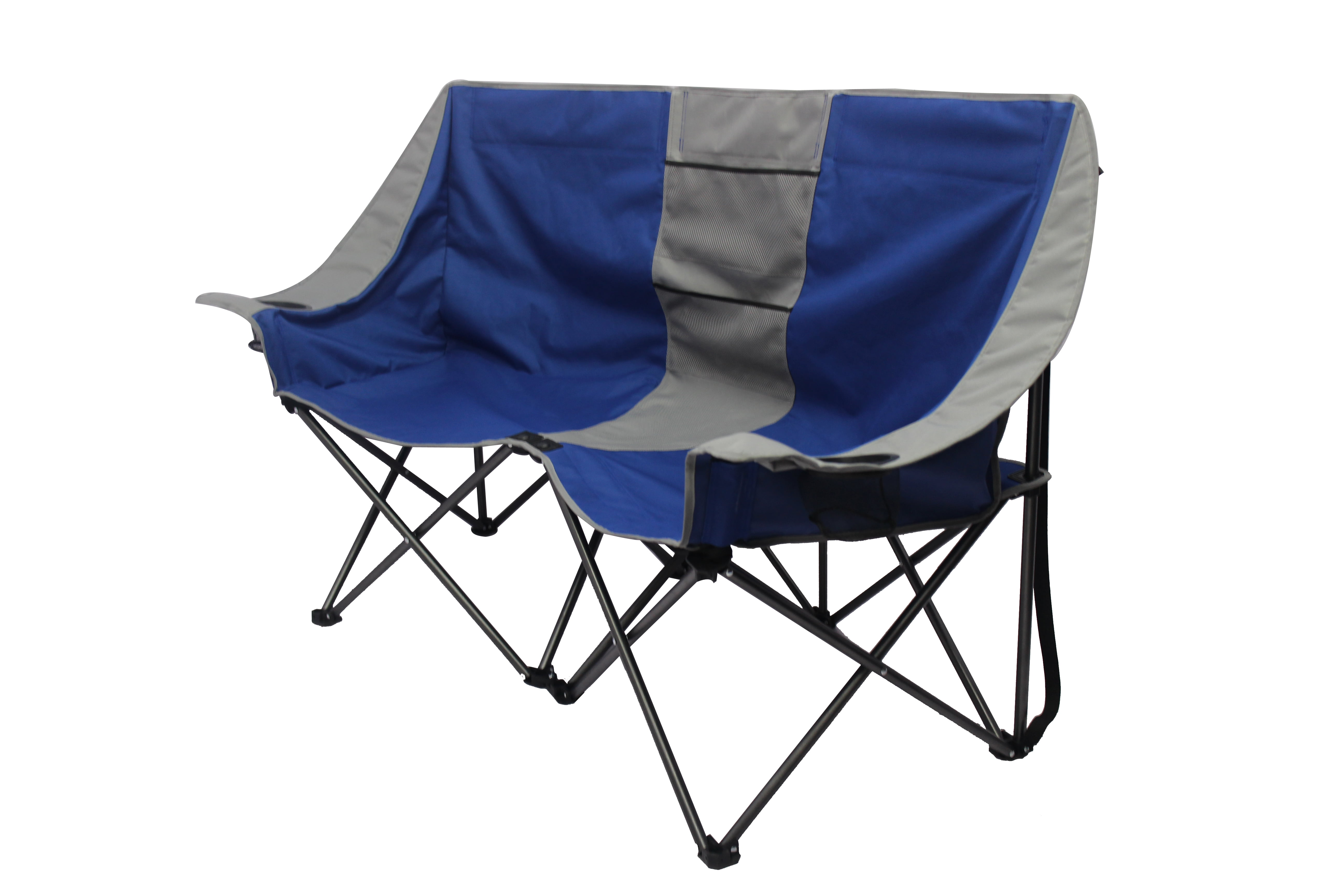 Remarkable Ozark Trail Two Person Conversation Camping Chair Walmart Com Lamtechconsult Wood Chair Design Ideas Lamtechconsultcom