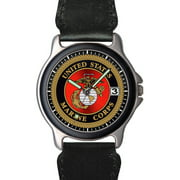 US Marines Nylon and Silver Watch