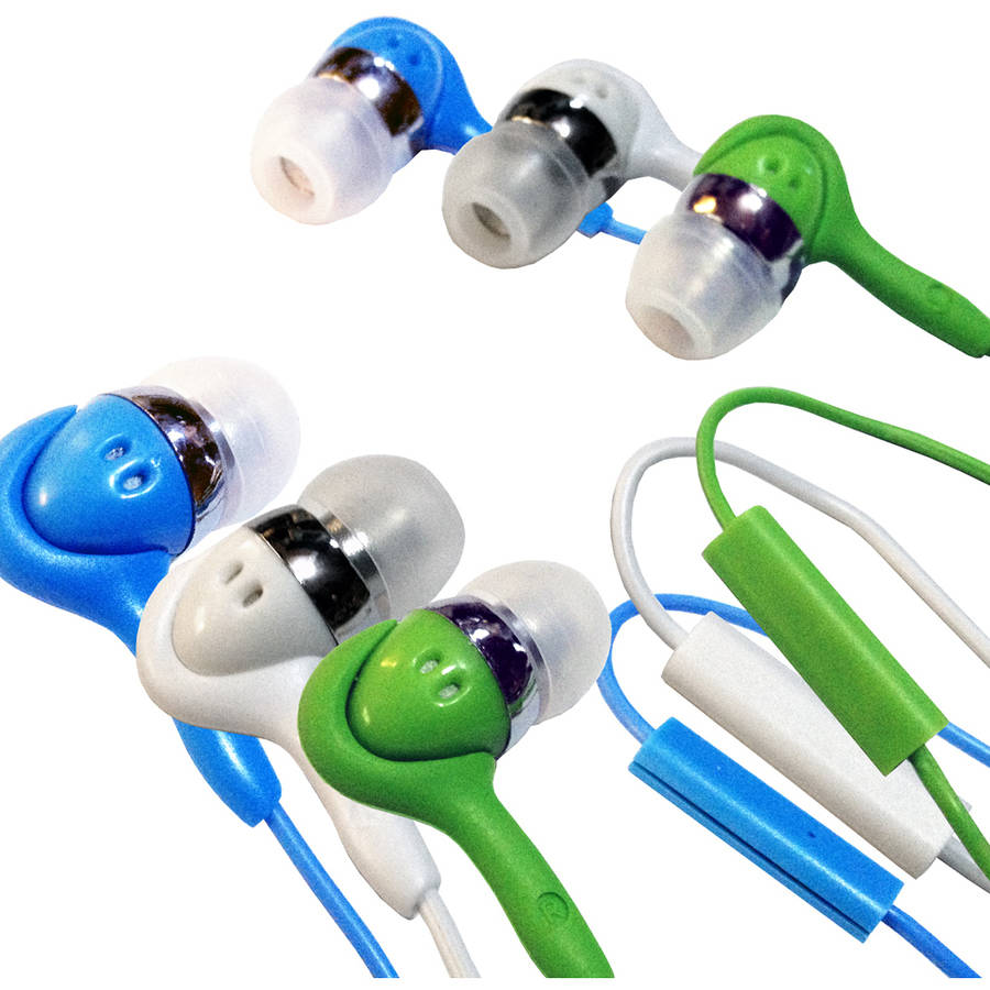 inTalk High-Performance Stereo Earphones with Microphone