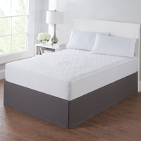 Mainstays Mattress Pad Collection Waterproof, Antimicrobial or Extra Thick