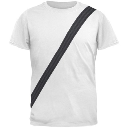 Seatbelt Driver Side Costume All Over Adult T-Shirt - Alex Side Halloween