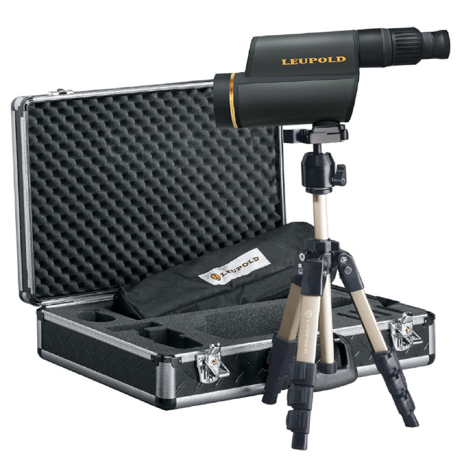 Leupold Gold Ring HD Spotting Scope Kit 12 40x60mm Shadow Gray