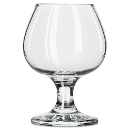 Libbey Embassy Brandy Glasses, 5 1/2 oz, Clear