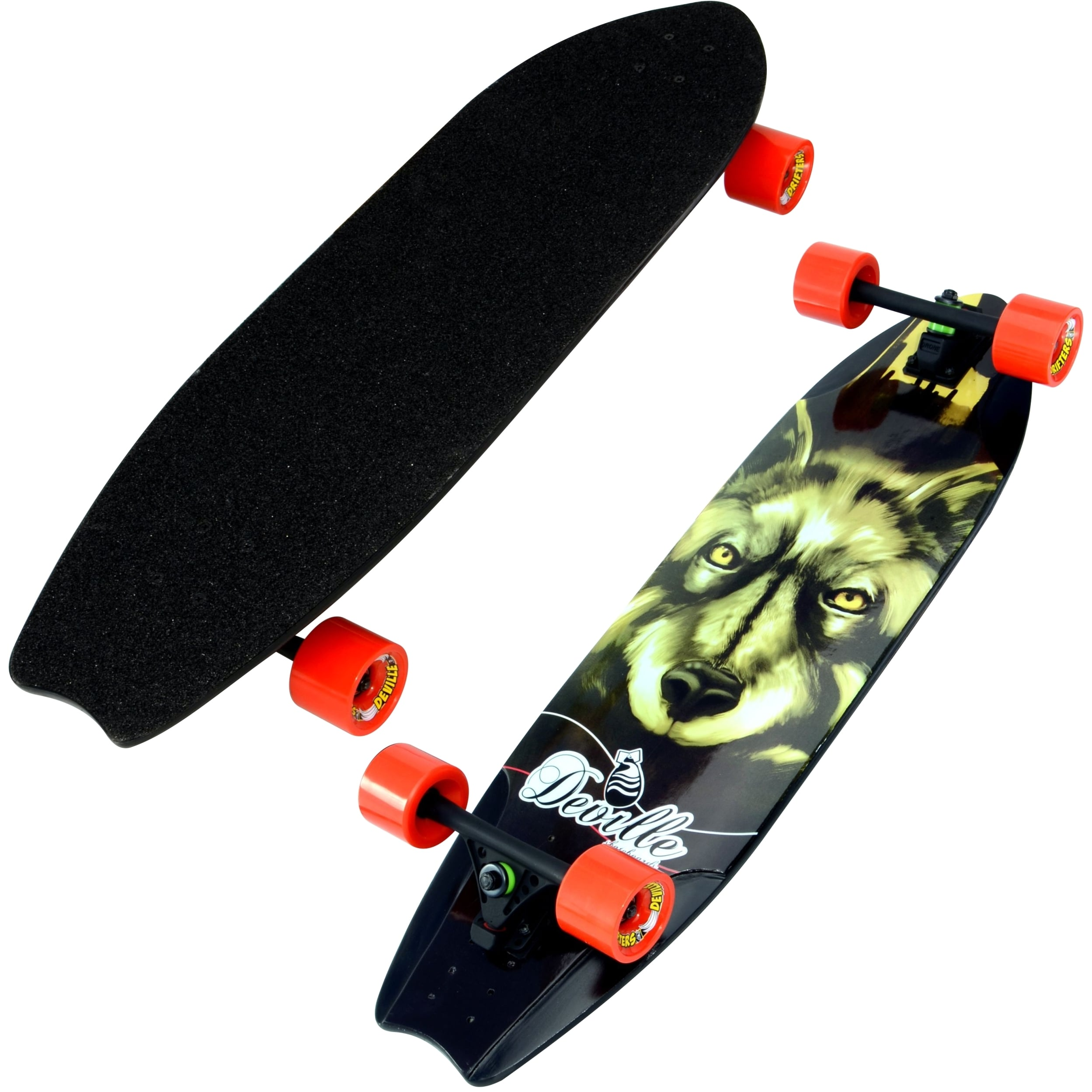 "Click here to buy Deville Longboard 36.0"" Freeride Coyote by Deville."