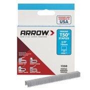 Arrow 3/8-Inch T50 Staples, 1250 Count