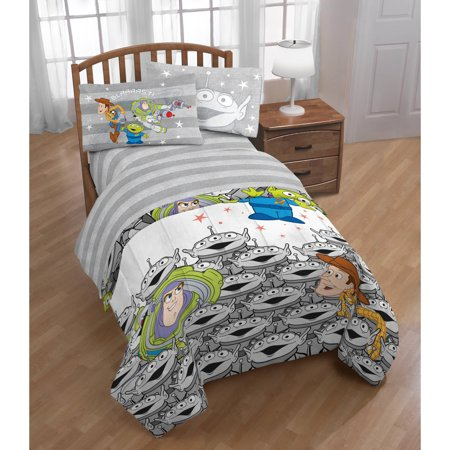 Toy Story Twin Comforter And Sheet Set Walmart Com