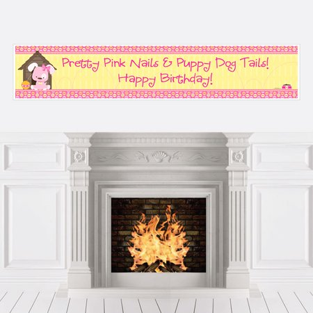 Girl Puppy Dog - Party Decorations - Birthday Party - Puppy Dog Birthday Decorations