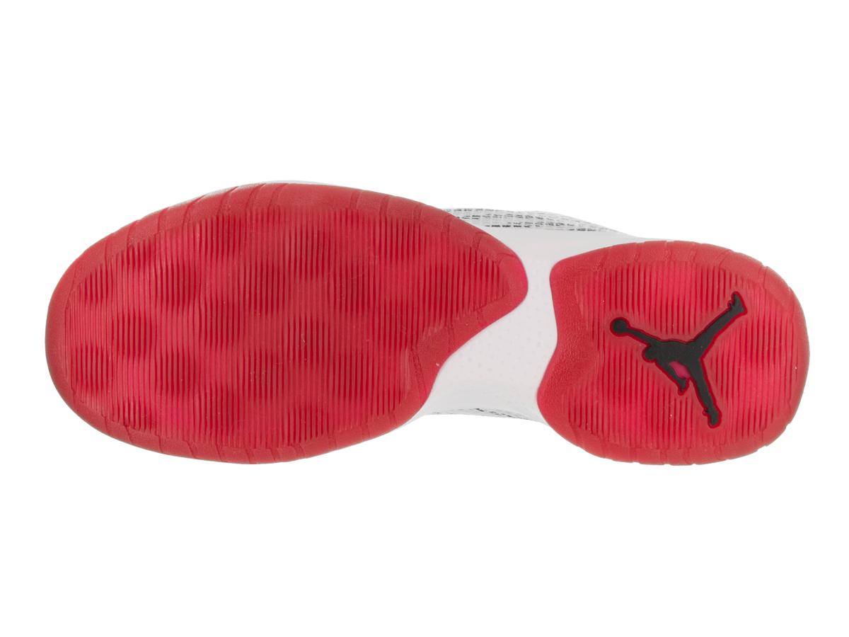 best loved 96fb6 cb2ef Jordan - Mens Air Jordan B. Fly White Black Gym Red 881444-101 - Walmart.com