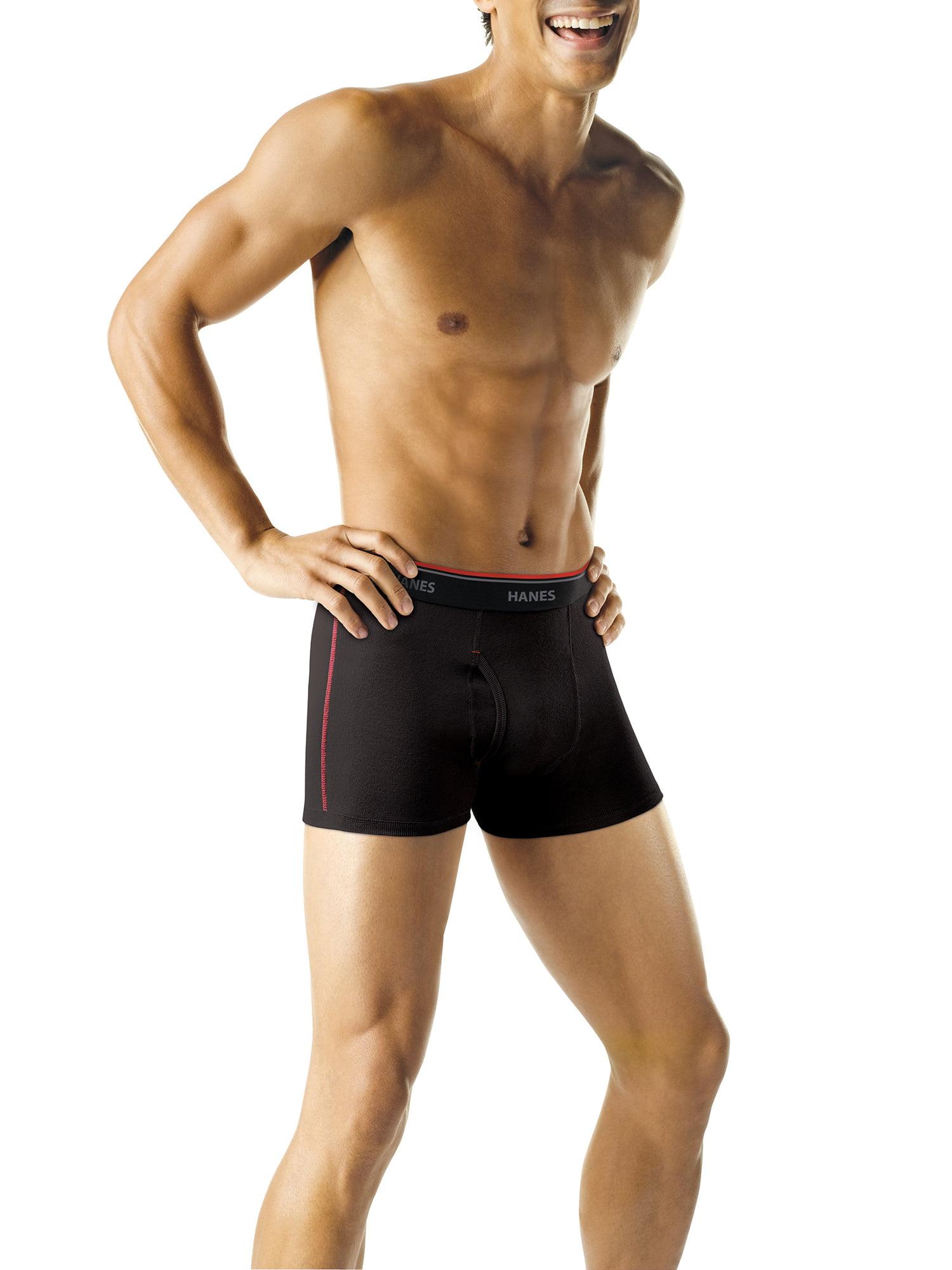 Cotton Comfortable Underwear for Mens Mens Fear No Fish Boxer Brief