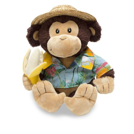 Banana Boat BrunoMonkey 10 inch Animated Plush - Stuffed Animal by Cuddle Barn