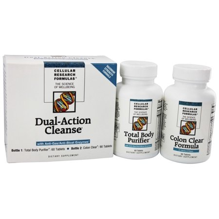 Gall Bladder Cleanse Kit (Cellular Research Formula - Dual Action Cleanse)
