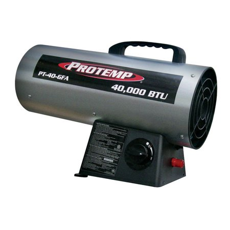 Protemp  1000 sq. ft. Propane  Fan  Portable Heater ()