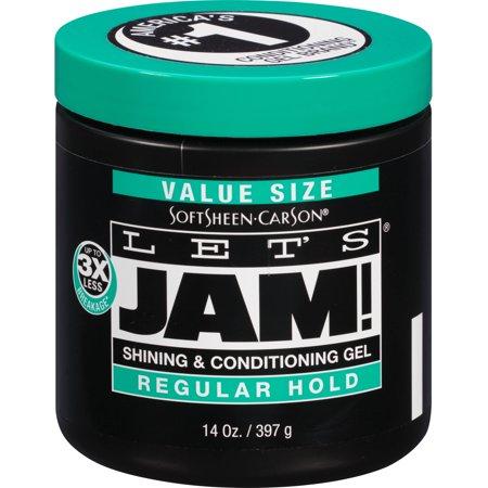 Let's Jam! Regular Hold Styling Gel, 14 oz