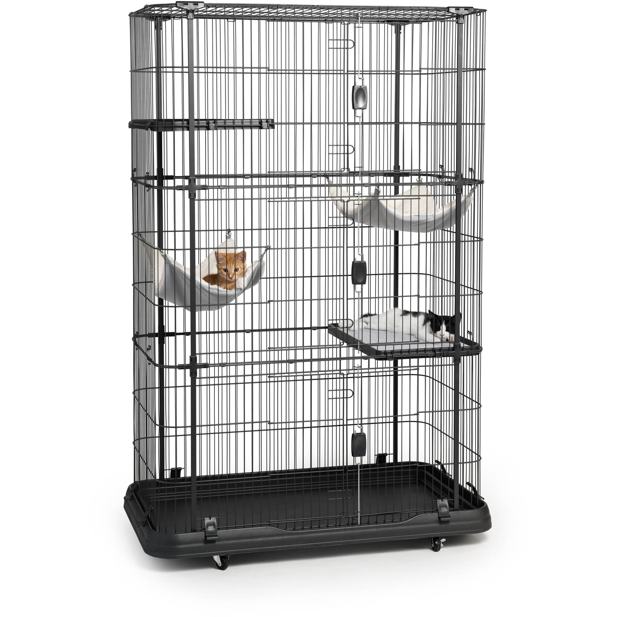 Prevue Pet Products Premium Cat Home with 4 Levels, 7500 - Walmart.com