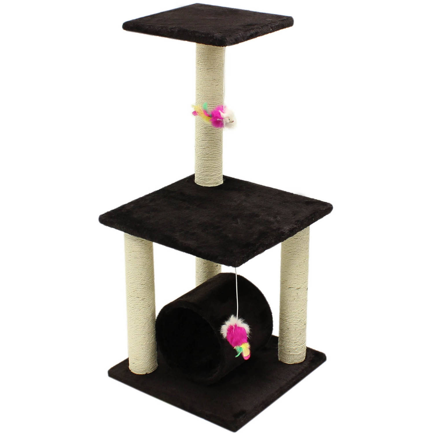 "ALEKO 33"" Cat Tree Condo Scratching Post Pet Furniture by ALEKO"