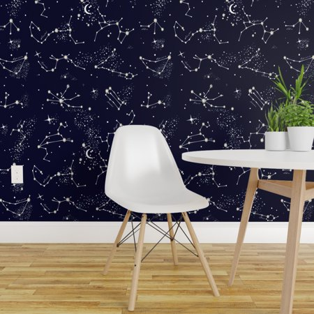 Peel and Stick Removable Wallpaper Zodiac Astrology Constellation Nigh