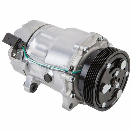 AC Compressor & A/C Clutch For VW Golf & Jetta MkIV 4-cyl 2000-2005 (4cyl Clutch)