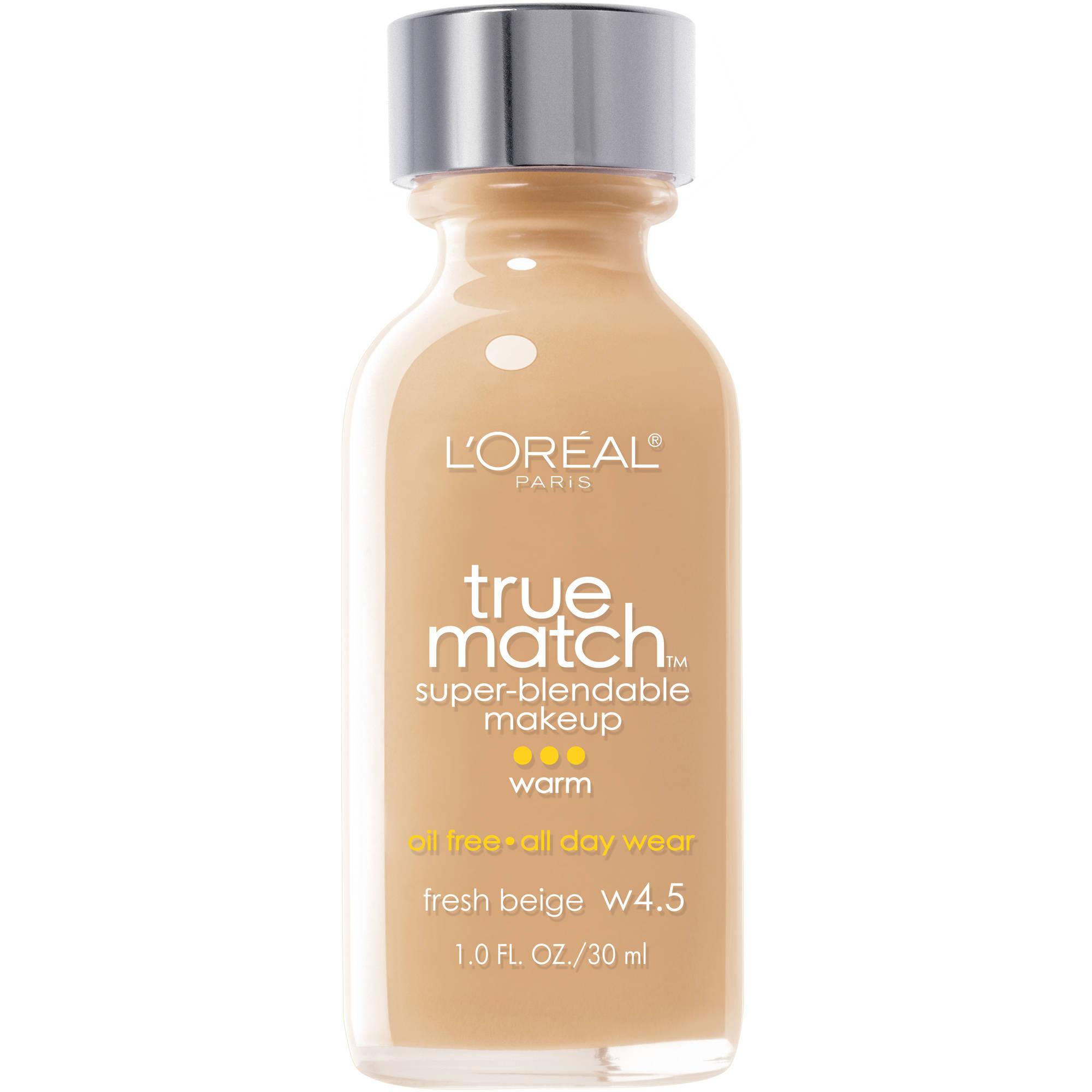 True Match Warm Fresh Beige W4.5 Superblendable Makeup, 1 fl oz