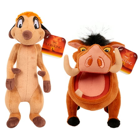 Lion King Plush Timon & Pumbaa - 2 pack bundle