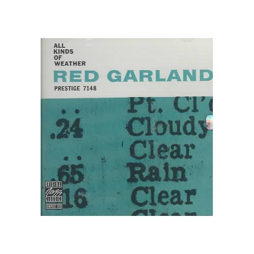 Red Garland Trio: Red Garland (piano); Paul Chambers (bass); Art Taylor (drums).<BR>Recorded at the Van Gelder Studio, Hackensack, New Jersey on November 27, 1958. Originally released on Prestige (7148). Includes liner notes by Ira Gitler.<BR>Digitally remastered by Kirk Felton (1990, Fantasy Studios, Berkeley, California).