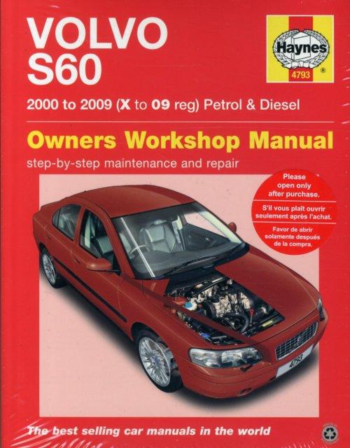 volvo s60 petrol and diesel owner s workshop manual 00 09 rh walmart com Ford Workshop Manuals Workshop Manuals Oilfield Well Testing