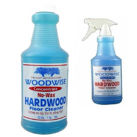 Woodwise Hardwood Floor Cleaner Ready To Use 32 Oz And