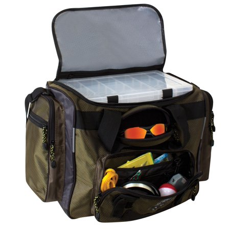 TORG Okeechobee Fats T1200 Large Water Resistant Fishing Bait Tackle Bag,