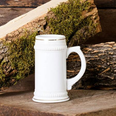 - Ceramic 18 Oz. Stein Pub Beer Mug - Ceramic Tankard Beer Mug