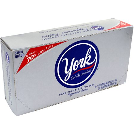 York Peppermint Patties  1 4 Oz  36 Count
