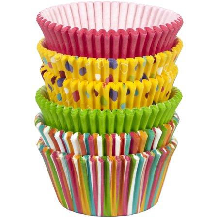 Creative Halloween Cupcakes (Wilton Stripes and Polka Dots Standard Cupcake Liners,)