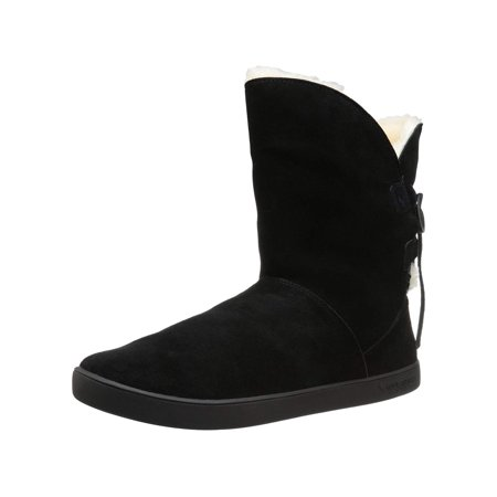 Koolaburra by UGG Womens Shazi Short Suede Closed Toe Ankle Cold Weather Boots ()