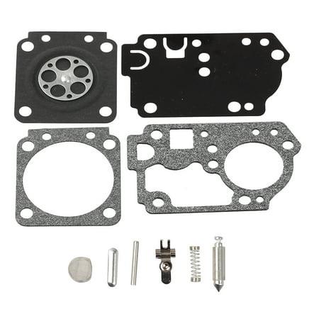 HIPA Carburetor Repair Kit For Poulan PP330 PP335 PPB330 Weedeater 33cc Trimmer # 545189502 545008042 Zama C1M-W44 Carburetor Rebuild Kit