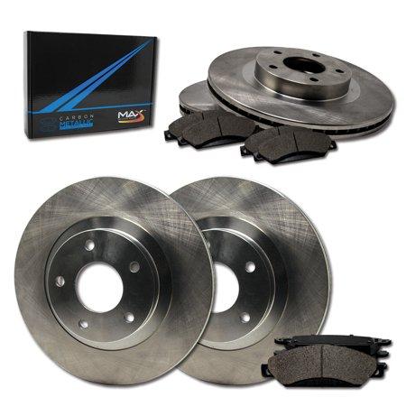 Max Brakes Front & Rear Premium Brake Kit [ OE Series Rotors + Metallic Pads ] TA103643 | Fits: 2010 10 Suzuki SX4 w/Rear Disc Brakes - image 8 de 8