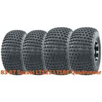 Set of 4 UTV ATV tires 20x7-8 & 22x11-8 for 83-87 Suzuki LT125 LT185 Quadrunner