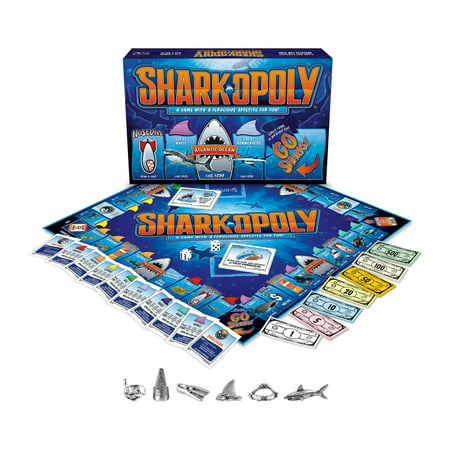 Late For The Sky SHARK-opoly Board Game (Shark Games Online)